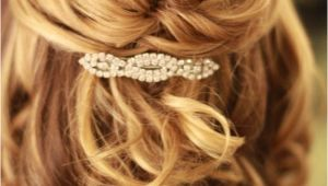 Half Updo Hairstyles for Shoulder Length Hair Wedding Hairstyles Half Up Half Down Medium Length