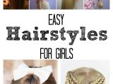 How to Do A Easy Hairstyle for School Easy Hairstyles for Girls the Idea Room