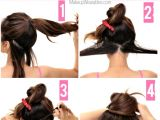 How to Do Easy Bun Hairstyles 21 Quick Lazy Girl Hairstyles Tutorial London Beep