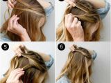 How to Do Easy Updo Hairstyles 31 Amazing Half Up Half Down Hairstyles for Long Hair