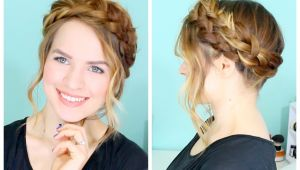 How to Make Crown Braid Hairstyle Braided Hairstyles for White & Black Women with Natural