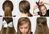 How to Make Easy Hairstyles for School Step by Step S Of Elegant Bow Hairstyles Hairzstyle