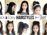 How to Make Easy Hairstyles for Short Hair 10 Quick & Easy Hairstyles for Short Hair How I Style