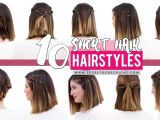 How to Make Easy Hairstyles for Short Hair 10 Quick and Easy Hairstyles for Short Hair