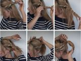 How to Make Easy Hairstyles Step by Step Easy Braided Ponytail Hairstyle How to Hair Romance