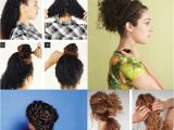 How to Make Hairstyle for Curly Hair 10 Easy Hairstyle Tutorials for Naturally Curly Hair