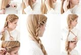 How to Make Quick and Easy Hairstyles Side Braid Hairstyle Tutorial S and