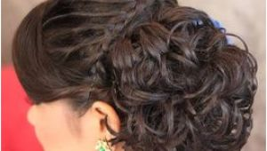 Indian Hairstyles Buns Pictures Braided Bun Hairstyle Make Up