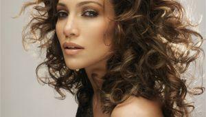 Jennifer Lopez Curly Hairstyles Brown Bronze Eyes Makeup Jennifer Lopez