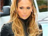 Jennifer Lopez Hairstyles for 2019 Jennifer Lopez S Half Ponytail Hair In 2019 Pinterest