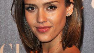 Jessica Alba Bob Haircut Angled Bob Hairstyles