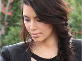 Kim Kardashian Braids Hairstyle 20 Celeb Inspired Chic Braids to Try This Summer