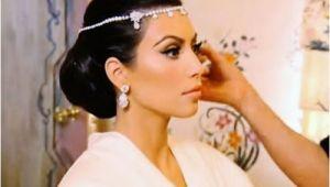 Kim Kardashian Wedding Hairstyle Estilo Moda Wedding Blog Bespoke Bridal Fashion for the