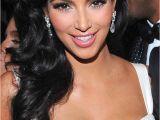 Kim Kardashian Wedding Hairstyles Kim S Elegant Wedding Locks From Kardashians Best Hair