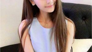 Korean Cut Girl Korean Hairstyle for Girls Unique Cute Korean Straight Hairstyles