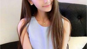Korean Straight Hairstyle Korean Hairstyle for Girls Unique Cute Korean Straight Hairstyles