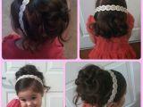 Little Girl Hairstyles for Flower Girl Flower Girl Hair Joanne S Wedding ❤ Pinterest