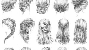 Long Hairstyles Drawing I Want to Try these All