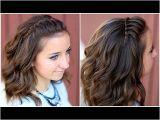 Long Hairstyles with Bangs Youtube Diy Faux Waterfall Headband