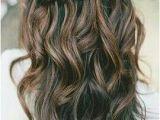 Loose Curls Hairstyles Pinterest Loose Curls and Waterfall Braid Love Hair In 2018