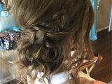 Loose Curls Hairstyles Pinterest Loose Curls Updo Hairstyle Braided Hair