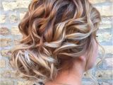 Loose Curly Bun Hairstyles 25 Best Ideas About Loose Curly Updo On Pinterest