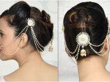 Low Bun Hairstyles for Indian Weddings Indian Bridal Hairstyles Low Bun Google Search