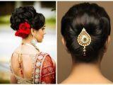 Low Bun Hairstyles for Indian Weddings Various Indian Hairstyle Of Medium Length for Weddings