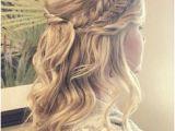 Maid Of Honor Hairstyles Half Up 172 Best Bridal Hair Braids Images