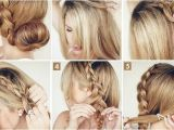 Making Easy Hairstyles How to Make the Big Braided Bun Elegant Hairstyle