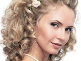 Medium Length Curly Hairstyles for Weddings Wedding Hairstyles Curly Hair Medium