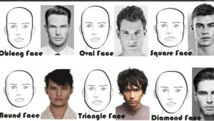 Mens Hairstyles for Your Face Shape Long and Short Hairstyles for Men According to Face Shape
