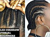 Natural Cornrow Hairstyles for Black Women Cornrow Hairstyles for Short Natural Hair How to Cornrow Your Own