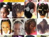 Natural Hairstyles after Taking Out Braids 20 Cute Natural Hairstyles for Little Girls