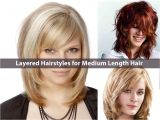 Newest Hairstyles for Medium Length Hair Latest Everlasting Layered Hairstyles for Medium Length
