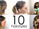 Nice Easy Hairstyles for School How to Do Cool Easy Hairstyles for School