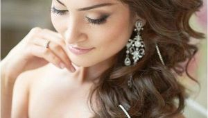 One Side Hairstyles for Weddings Indian Bridal Hairstyle Dulhan Latest Hairstyles for Wedding