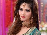 Pakistani Hairstyle for Wedding Beautiful Pakistani Wedding Bridal Dresses Makeup and
