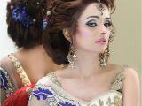 Pakistani Hairstyle for Wedding New Pakistani Bridal Hairstyles to Look Stunning