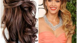 Party Wear Hairstyle for Girl Elegant Wedding Party Hairstyles for Long Hair