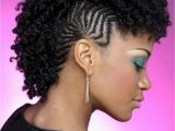 Pictures Mohawk Hairstyles with Braids Braided Mohawk Hairstyles for Black Hair 2017 with