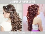 Pictures Of Bridesmaid Hairstyles Half Up 42 Half Up Half Down Wedding Hairstyles Ideas Do S