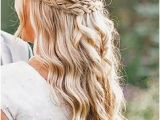 Pictures Of Bridesmaid Hairstyles Half Up Braided Half Up Half Down Hair We ❤ This