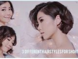 Pictures Of Different Hairstyles for Short Hair 3 Different Hairstyles for Short Hair Using Flat Iron