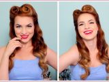 Pin Up Girl Hairstyles for Long Hair How to Do 1950s Hairstyles for Long Hair 1940 S 50 S Pinup