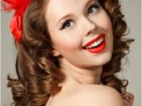Pin Up Hairstyles for Long Curly Hair Curly Pin Up Hairstyles