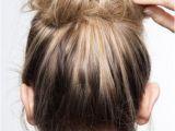 Pinterest Hairstyles Messy Buns In 15 Sekunden Zur Trendfrisur Diese Messy Bun Anleitung ist Super