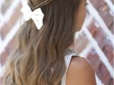 Pretty Easy to Do Hairstyles Infinity Braid Tieback Back to School Hairstyles