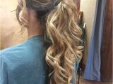 Prom Hairstyles 2019 Hair Down Dressy Ponytails Hairstyles In 2019 Pinterest