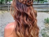 Prom Hairstyles for Long Hair Down with Braids Prom Hairstyles Down 2016